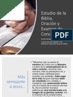 Biblia Oración Examen de Conciaencia