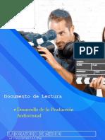 Desarrollo de La Producción Audiovisual