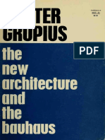 The New Architecture and the Bauhaus by Walter Gropius (Art eBook)