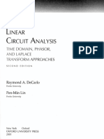 Linear Circuits Analysis de Carlo