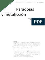 Borges, paradojas y metaficción