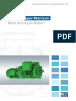 WEG w22 Ir4 Super Premium Motor de Inducao Trifasico 50041203 Brochure Portuguese Web