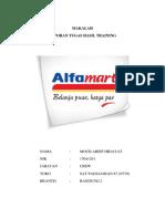 Makalah Review assesment Alfamart