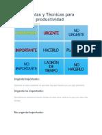 Herramientas y Técnicas Para Mejorar La Productividad (1)