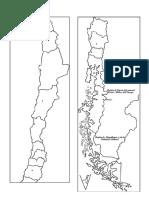 Mapa Regionalizado de Chile
