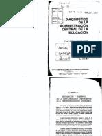 Paviglianiti - Diagnóstico de La Administración Central- Capítulo 3