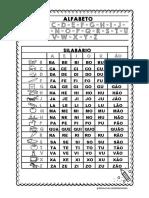 Ficha Silabário