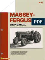Massey Ferguson MF230 MF235 MF240 MF245 MF250 Shop Manual