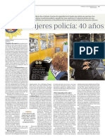 Mujeres policía 40 años