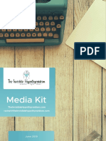 The Invisible Hypothyroidism Media Kit - June 2019