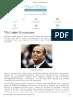 Biografia de Vladimiro Montesinos
