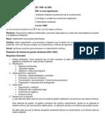 Sistemas de Gestión Ambiental ISO 14001 de 2004
