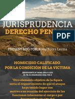 Jurisprudencia Derecho Penal II Rony Yucra Lerma Finalizado