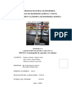 Cromatografia de Capa Fina y de Columna (Informe)