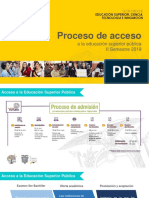 Proceso de Acceso Educación Superior - socialización 2019 marzo abril 2019.ppt