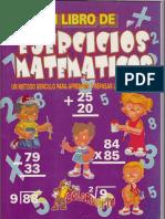 Mi Libro de Ejercicios Matematicos