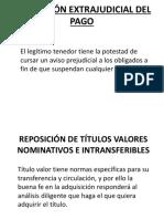 Suspensión Extrajudicial Del Pago