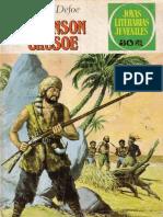Joyas Literarias Juveniles - Robinson Crusoe