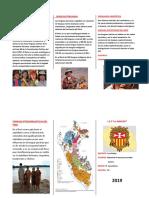 La Diversidad Étnica Lingüística Del Perú