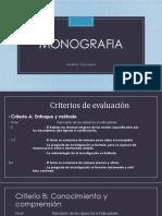 Monografia Presentacion de Criterios