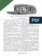 Volume 1 Issue 1, 4 November 1869