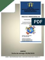 Planif Didactica Anual y Secuencias Didacticas Ed 2016