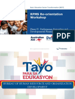 Individual Performance Commitment and Review Form (Ipcrf) for Teachers