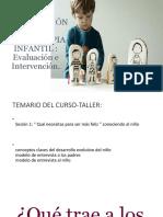 Curso - Taller Psicoterapia Infantil Final