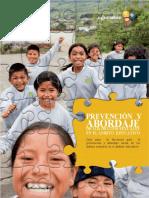 Libro Prevention Abuso Sexual Ámbito Educativo