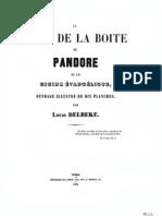 Fond de la Boite de Pandore - La Figure du Baphomet Chretien