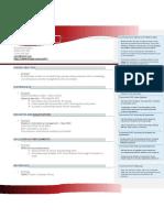 1 - Functional or Skills-based Format v1