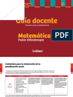 Llaves Guia Docente Matematica 1