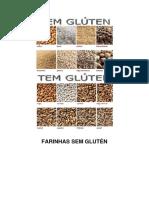 receitas de farinhas preparadas sem gluten