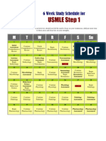 How to Study USMLE Step 1- 42 Days