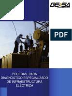 Pruebas Para Diagnóstico Especializado de Infraestructura Eléctrica - Autores Varios - Editorial GENSA