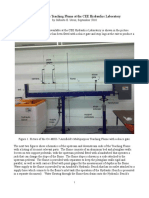 Pdfsecret.com Operation of the Teaching Flume at the Cee Hydraulics Laboratory