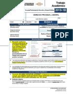 F2 - Derecho Procesal Laboral