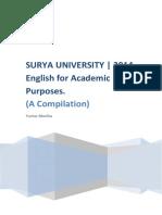 English for Academic Purposes_SURYA UNIVERSITY_2014
