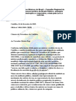Ofício OMB Câmara de Vereadores de Curitiba 14 02-2019