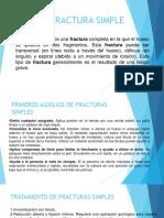 Fractura Simple
