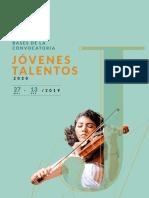 Convocatoria Jovenes Talentos 2020