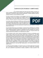 Los Procesos_fuente de Valor, Eficiencia y Competitividadc