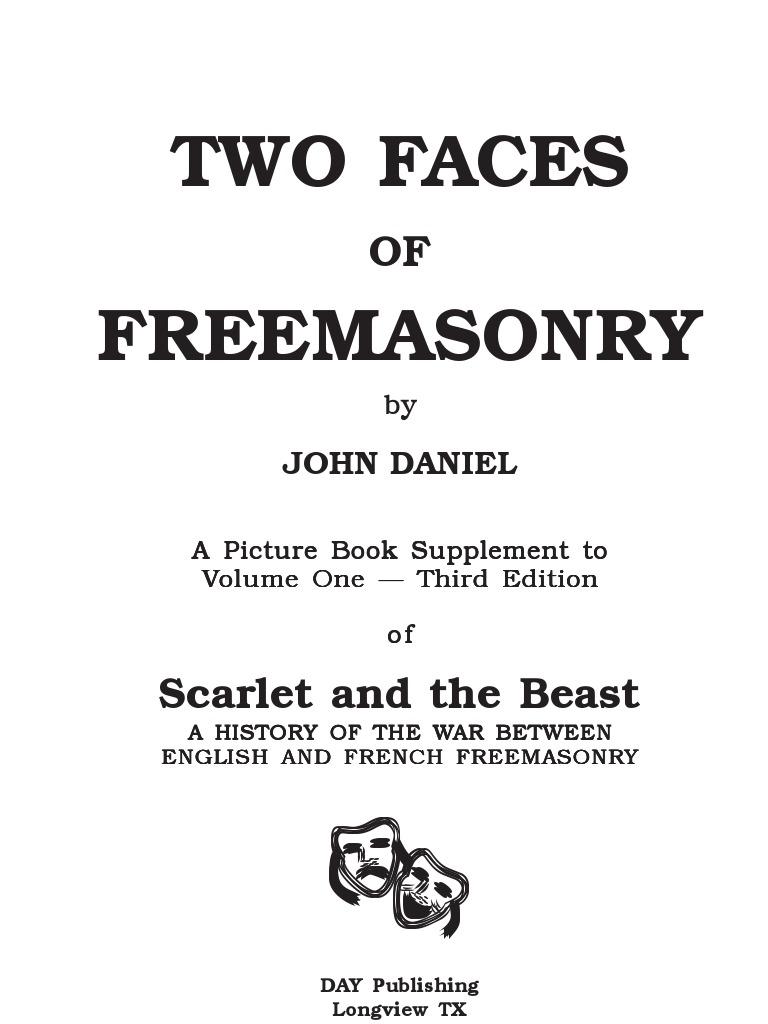 07924ba5d Scarlet and the Beast - Two Faces of Freemasonry (John Daniel, 2007 ...