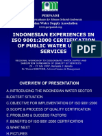 13 Indonesian Experiences ISO Certification