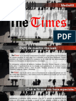 Mediakit  The Times Junio 2019