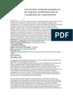 Sistemas de Comunicación Molecular Basados