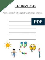 Lectura y Comprensic3b3n Lectora Ejercicios