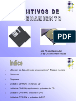 Presentacindispositivosdealmacenamiento 121108015036 Phpapp01 Convertido