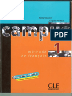 Campus - 1 Methode de Francais Reduzido
