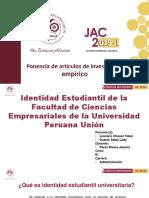 Diapositiva de Identidad Estudiantil
